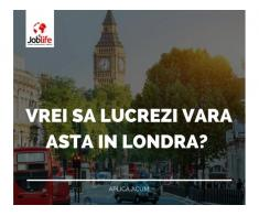 ANGAJAM ECHIPE CURATENIE LONDRA