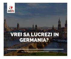 JOBURI GERMANIA FARA COMISIOANE