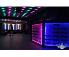 MOONLIGHT Ceiling . Tavan club lumini led rgb dmx Predescu Rebel Design Club Disco