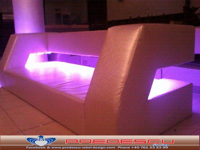 PREDESCU REBEL DESIGN Club Canapea Bar Model LIGHT OPEN SPACE by Adi Predescu D - 3/5