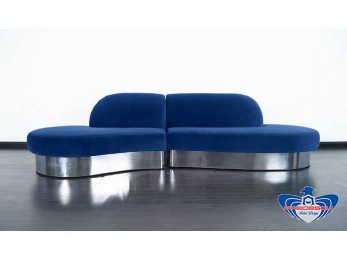 PREDESCU REBEL DESIGN Club Canapea Bar Model CROMOND by Adi Predescu Designer Disco C - 4/5