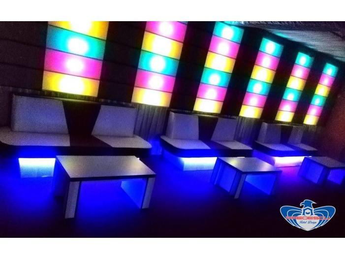 PREDESCU REBEL DESIGN Club Canapea Bar Model FIRST by Adi Predescu Designer Disco Clu - 2/5