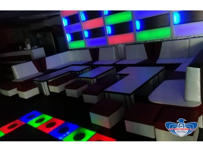 PREDESCU REBEL DESIGN Club Canapea Bar Model FIRST by Adi Predescu Designer Disco Clu - 3/5