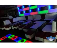 PREDESCU REBEL DESIGN Club Canapea Bar Model FIRST by Adi Predescu Designer Disco Clu