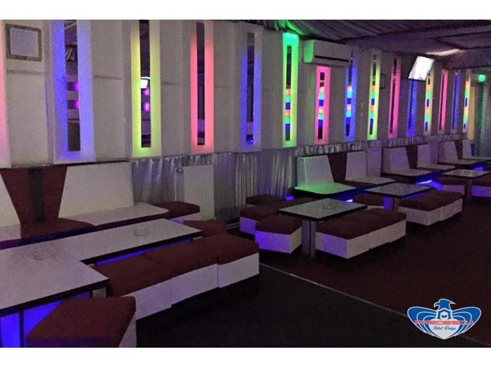 PREDESCU REBEL DESIGN Club Canapea Bar Model FIRST by Adi Predescu Designer Disco Clu - 4/5