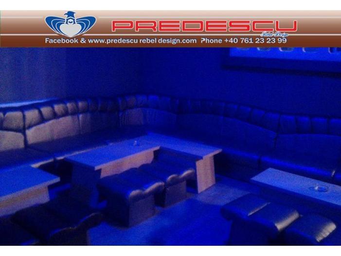PREDESCU REBEL DESIGN Club Canapea Bar Model SOUND TEMPLE by Adi Predescu Designer Di - 5/5