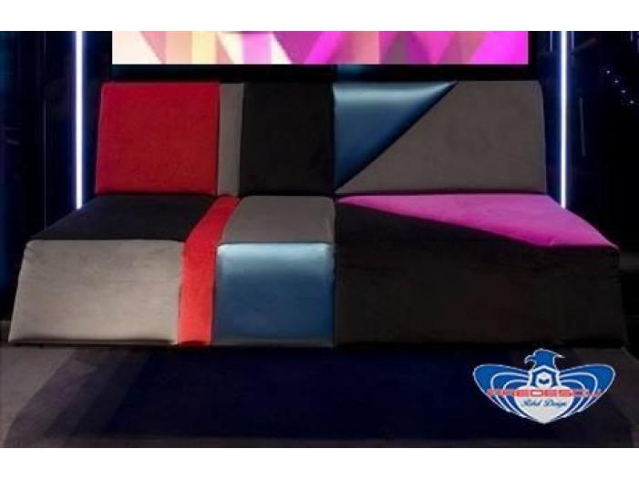 PREDESCU REBEL DESIGN Club Canapea Bar Model TRIANGOLO SAZIATO by Adi Predescu Design - 1/5