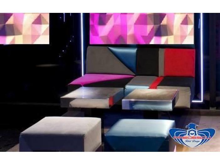 PREDESCU REBEL DESIGN Club Canapea Bar Model TRIANGOLO SAZIATO by Adi Predescu Design - 2/5