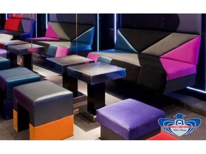 PREDESCU REBEL DESIGN Club Canapea Bar Model TRIANGOLO SAZIATO by Adi Predescu Design - 3/5