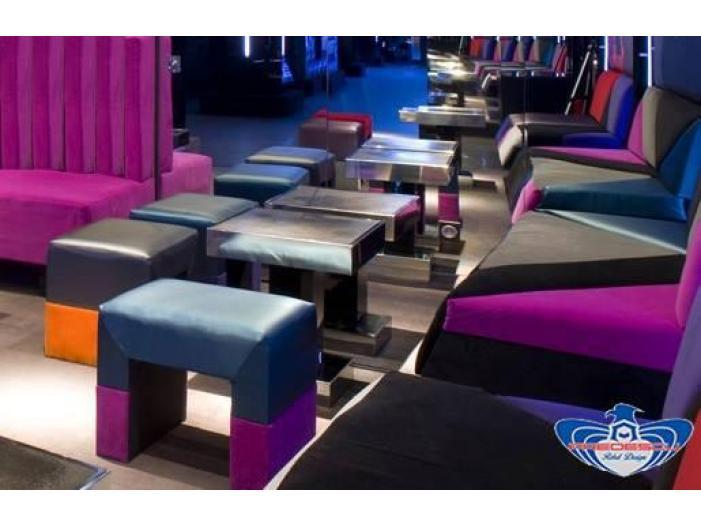 PREDESCU REBEL DESIGN Club Canapea Bar Model TRIANGOLO SAZIATO by Adi Predescu Design - 4/5