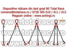 Dispozitiv ridicare lant sistem macara