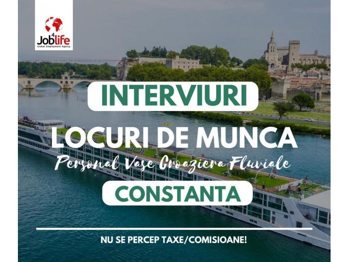BUCATARI - OSPATARI - CAMERISTE vase croaziera - INTERVIURI CONSTANTA - 1/1