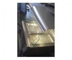 Vitrina inox calda  2GN1/1 de banc, second