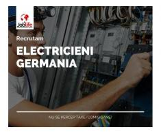ELECTRICIENI GERMANIA de la 1600 - 2300 EURO/luna