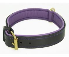 Zgarda din piele pentru caini colectia Provence Sara Dog