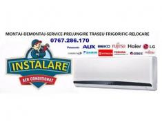 MONTAJ AER CONDITIONAT (demontaj/relocare/service)-BUC/IF
