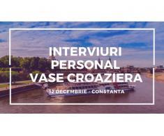 INTERVIURI PERSONAL VASE CROAZIERA - CONSTANTA