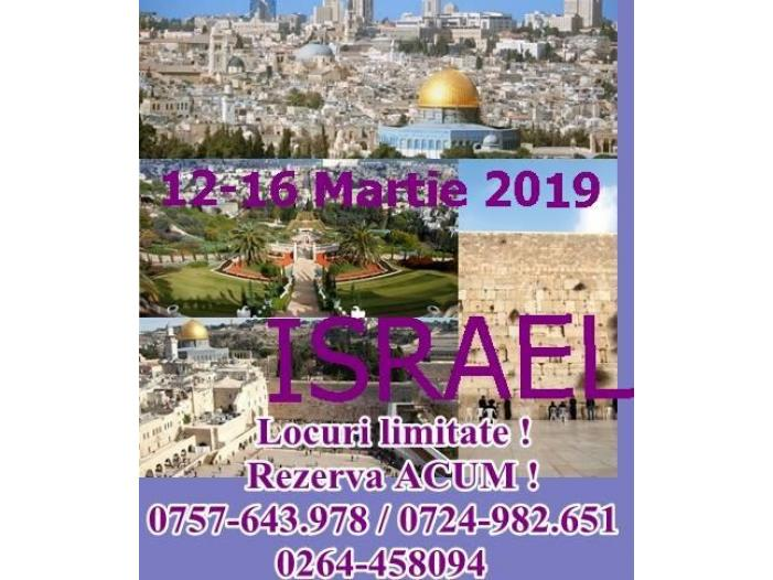 O vacanta speciala in Israel 12-16 Martie 2019 - 1/1