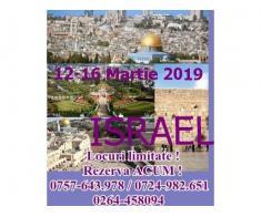 O vacanta speciala in Israel 12-16 Martie 2019
