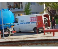 Servicii profesioniste de vidanjare si desfundare canalizare