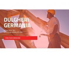 DULGHERI GERMANIA - de la 1600 euro net + cazare gratuita