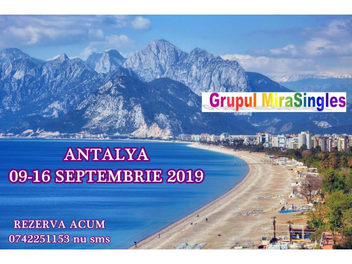 Antalya 09-16 Septembrie – o vacanta de vis la malul marii - 1/1