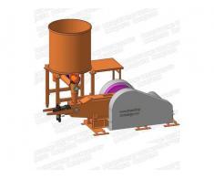Linie brichetat brichete din paie 600 kg/ora cu diametrul 70-75mm