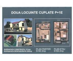 Case de vanzare tip duplex si single, zona Clinceni