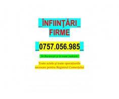 INFIINTARI FIRME - FIRME NOI
