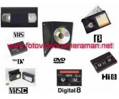 Montam si copiem orice caseta pe dvd /bluray