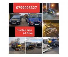 Oferim Tractari Auto Deva & Asistenta rutiera NON-STOP 24/7