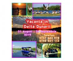 Delta Dunarii 1 – 06 Septembrie – natura, liniste, distractie -