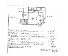Apartament 2 camere,  43.07 mp, Hunedoara