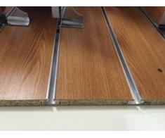 profil aluminiu pentru panou slatwall