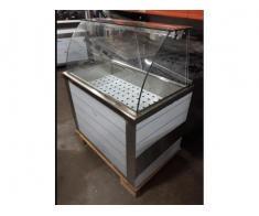 Vitrina calda inox 3 GN 1/1 pe suport pt autoservire