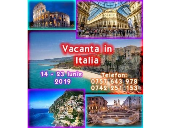 Italia - 14-23 Iunie - vacanta pentru Singles - 1/1