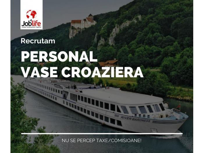 OSPATARI CAMERISTE BUCATARI VASE CROAZIERA EUROPA - 1/1
