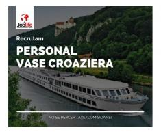 OSPATARI CAMERISTE BUCATARI VASE CROAZIERA EUROPA