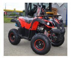 Atv Kxd Model:Toronto 125cc/Roti de 7 Inch