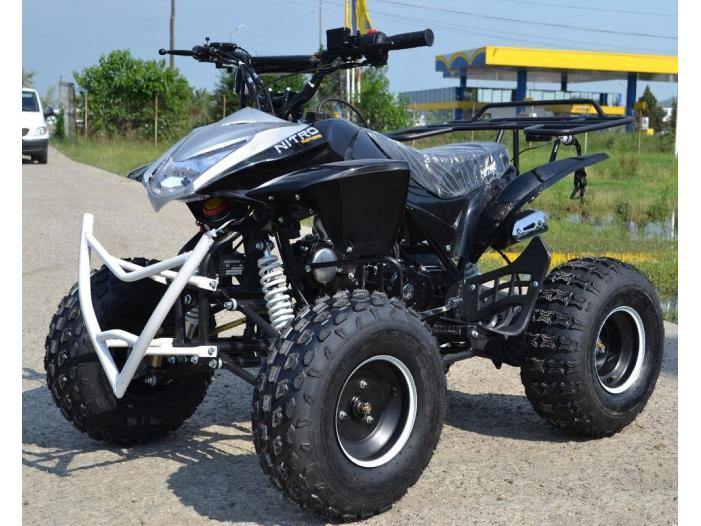 Model:Alyen Atv Kxd 125cc /Roti de 8 Inch - 1/3