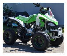 Atv Kxd Model:Speedy 125cc/Roti de 7 Inch - Poza 3/4