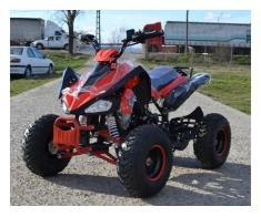 Atv Nitro Model:Raptor 125cc/Roti de 8 Inch