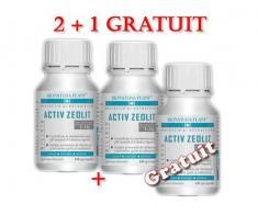 Oferta Zeolit Silicic 180 capsule 2+1 gratuit