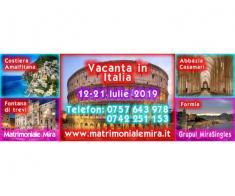 Italia – 12-21 iulie - vacanta pentru Singles