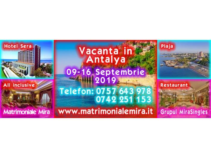 Vacanta in Antalya 09-16 Septembrie – plaja, mare si mult soare - 1/1