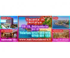 Vacanta in Antalya 09-16 Septembrie – plaja, mare si mult soare