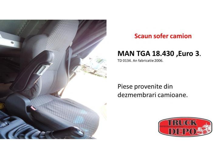 Scaun sofer camion MAN TGA 18.430 - 1/1