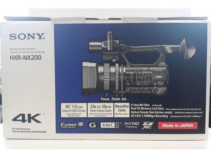 Panasonic AG-UX90 si Sony HXR-NX200. Camere video Pro - 2/3