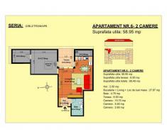 Vand apartament 2 camere, mansarda, zona Tractorul-Brasov