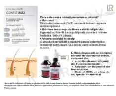 Set  L-Recapin 1+1 prevenirea căderii părului şi regenerare